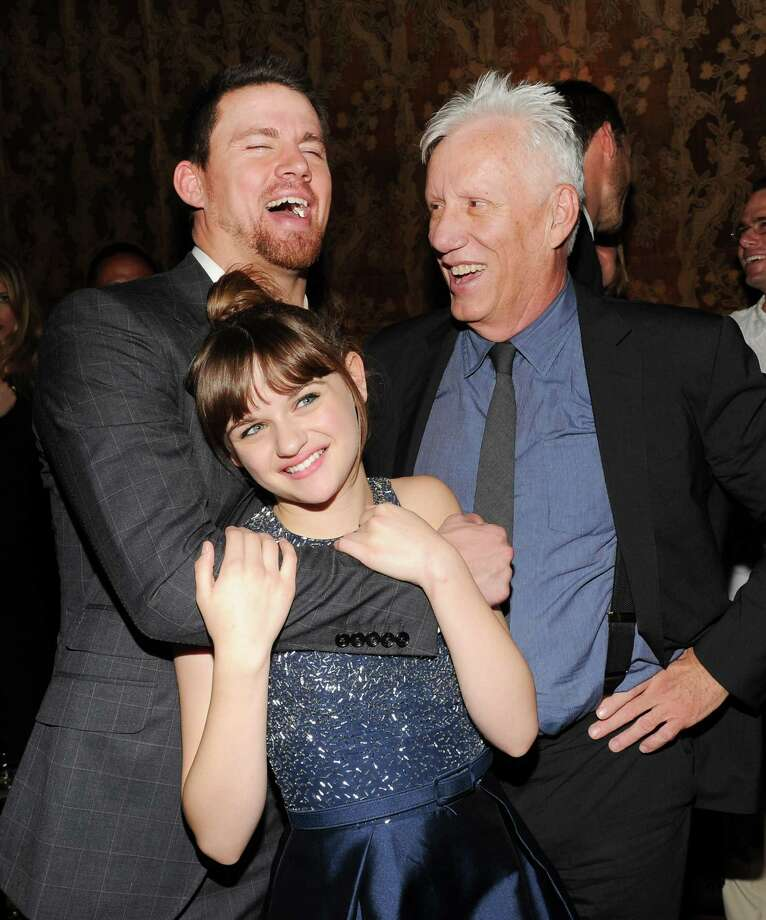 "Actors Channing Tatum, left, Joey King and James Woods attend the ""White House Down"" premiere party at The Frick Collection on Tuesday, June 25, 2013 in New York. (Photo by Evan Agostini/Invision/AP) ORG XMIT: NYEA211 Photo: Evan Agostini, AP / Invision"