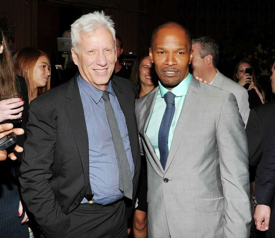 "Actors James Woods, left,  and Jamie Foxx attend the ""White House Down"" premiere party at The Frick Collection on Tuesday, June 25, 2013 in New York. (Photo by Evan Agostini/Invision/AP) ORG XMIT: NYEA210 Photo: Evan Agostini, AP / Invision"