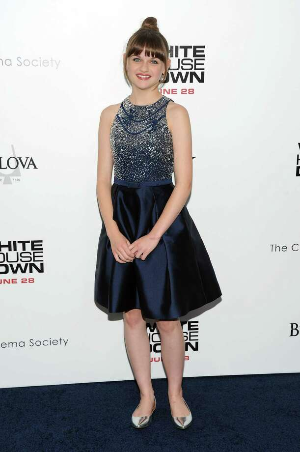"Actress Joey King attends the ""White House Down"" premiere at the Ziegfeld Theatre on Tuesday, June 25, 2013 in New York. (Photo by Evan Agostini/Invision/AP) ORG XMIT: NYEA101 Photo: Evan Agostini, AP / Invision"