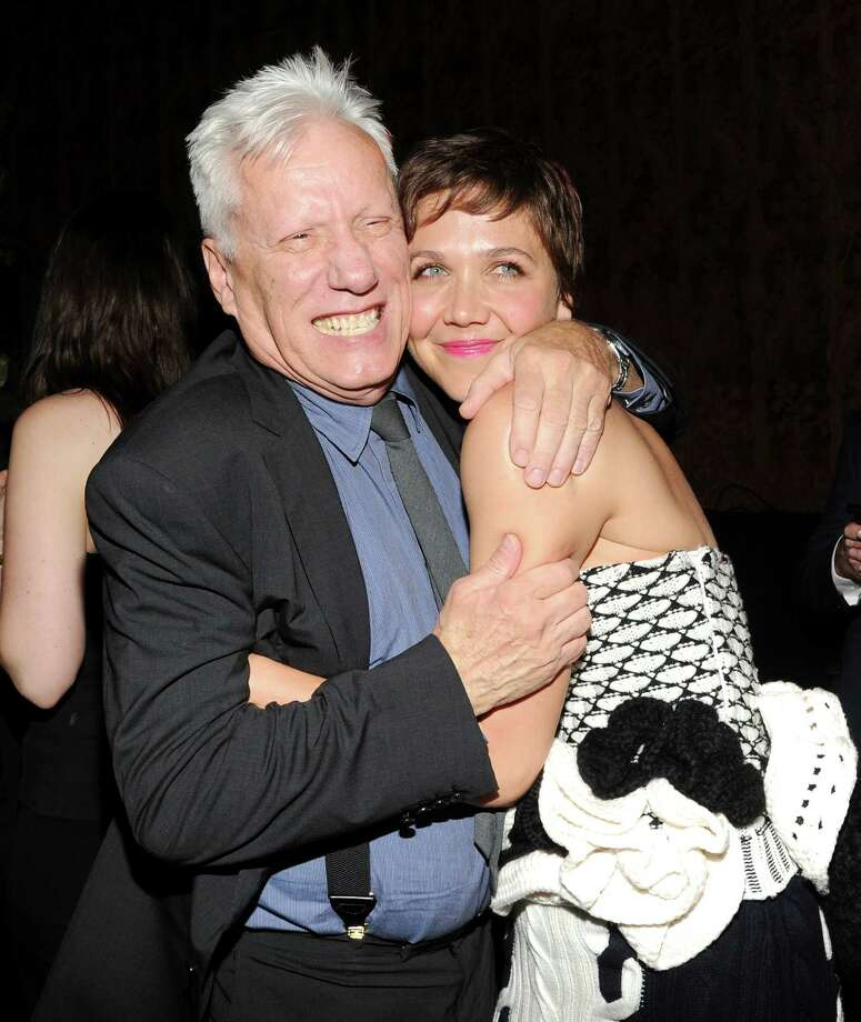 "Actors James Woods and Maggie Gyllenhaal attend the ""White House Down"" premiere party at The Frick Collection on Tuesday, June 25, 2013 in New York. (Photo by Evan Agostini/Invision/AP) ORG XMIT: NYEA208 Photo: Evan Agostini, AP / Invision"