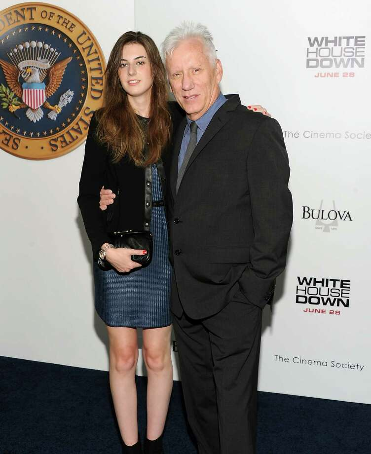 "Actor James Woods and guest attend the ""White House Down"" premiere at the Ziegfeld Theatre on Tuesday, June 25, 2013 in New York. (Photo by Evan Agostini/Invision/AP) ORG XMIT: NYEA103 Photo: Evan Agostini, AP / Invision"