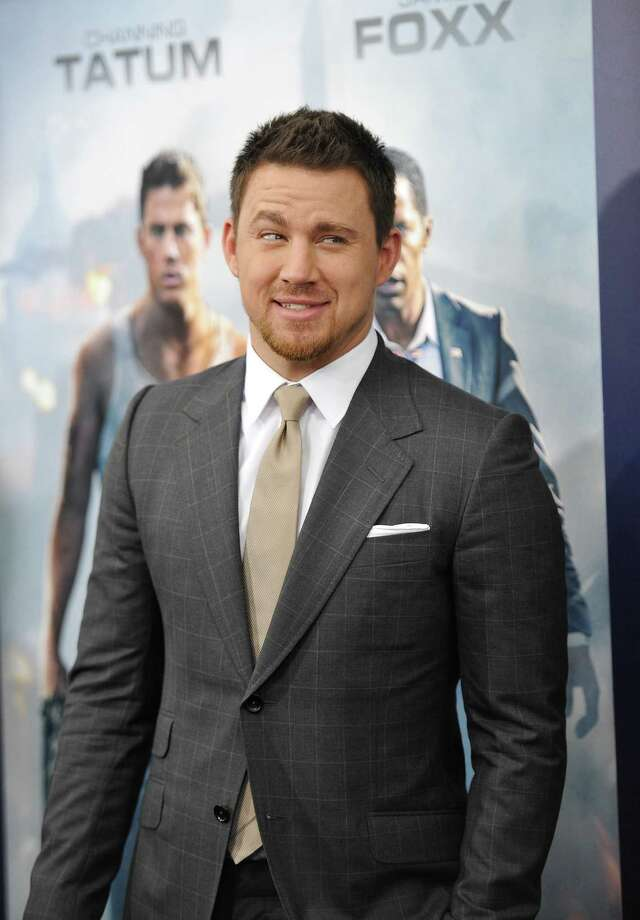 "Actor Channing Tatum attends the ""White House Down"" premiere at the Ziegfeld Theatre on Tuesday, June 25, 2013 in New York. (Photo by Evan Agostini/Invision/AP) ORG XMIT: NYEA128 Photo: Evan Agostini, AP / Invision"