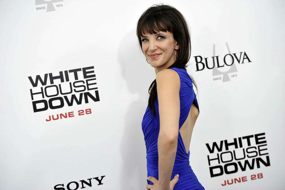 "Actress Jackie Geary attends the ""White House Down"" premiere at the Ziegfeld Theatre on Tuesday, June 25, 2013 in New York. (Photo by Evan Agostini/Invision/AP) ORG XMIT: NYEA115 Photo: Evan Agostini, AP / Invision"