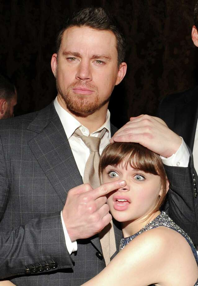 "Actor Channing Tatum and actress Joey King attend the ""White House Down"" premiere party at The Frick Collection on Tuesday, June 25, 2013 in New York. (Photo by Evan Agostini/Invision/AP) ORG XMIT: NYEA214 Photo: Evan Agostini, AP / Invision"