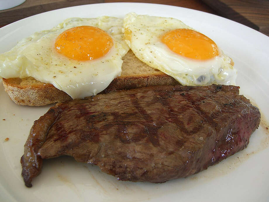 Bundy's meal: Declined a special meal, so he was given steak and eggs, with hash browns, toast, milk, coffee, juice, butter, and jelly