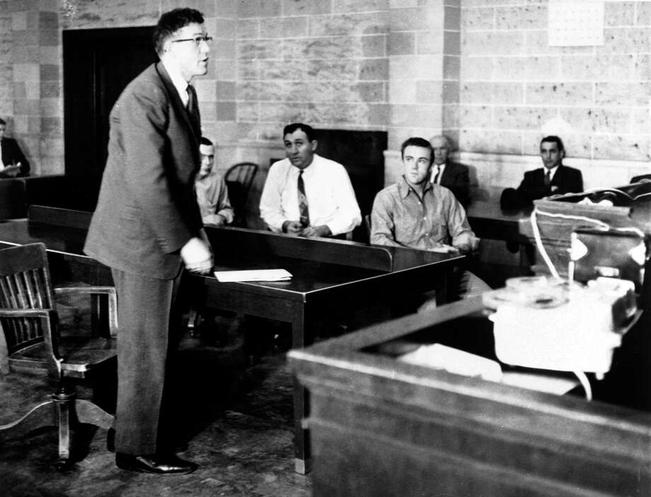 Perry Smith and Richard Hickock, executed 1965