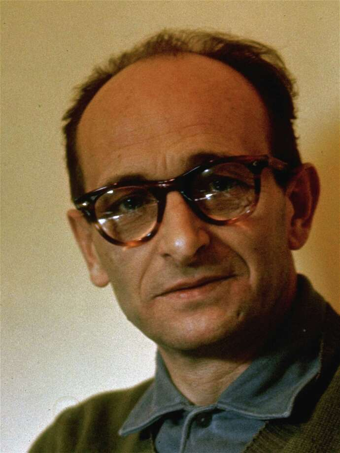 Adolph Eichmann, executed 1962