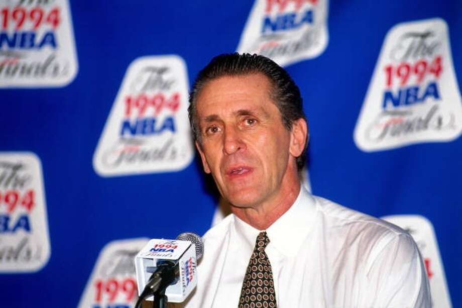 1967: Pat Riley, first round, 7th overall Riley spent the first three seasons of his nine-year playing career with the San Diego Rockets. In 1994, the coaching legend and his Knicks fell to the Rockets in the Finals. Photo: Nathaniel S. Butler, NBAE Via Getty Images