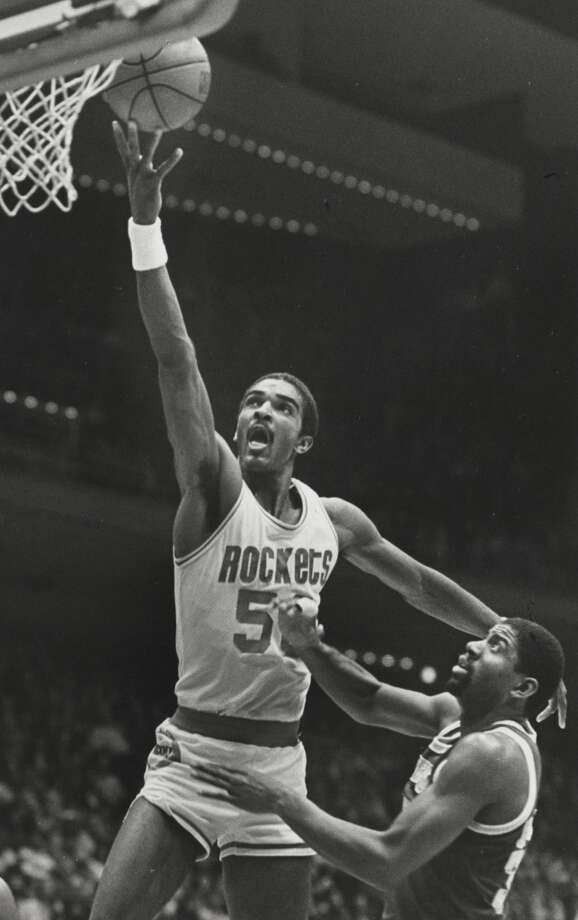 1983: Ralph Sampson, first round, 1st overallTeaming with Hakeem Olajuwon to form the Twin Towers, Sampson averaged 15.4 points per game during his Hall-of-Fame, nine-year career, five of which were spent with the Rockets. The four-time All-Star was a key member of the 1986 Finals team, which lost to the Celtics in six games. Photo: Chronicle File Photo