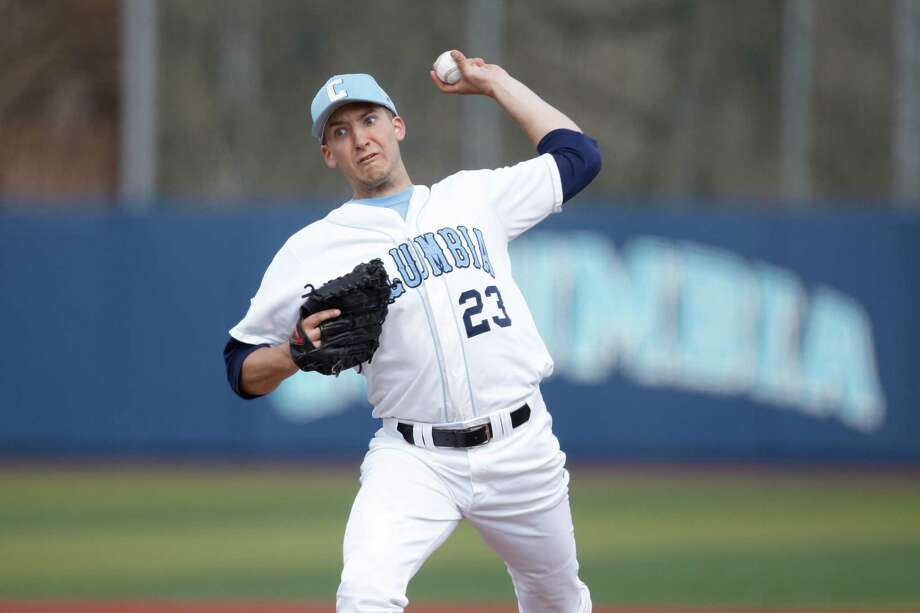 Left-handed pitcher David Speer, a 2010 Staples High graduate, went 6-3 with a 2.34 ERA and earned All-Ivy League first-team honors for Columbia University as a junior this spring. Photo: Contributed Photo / Norwalk Citizen