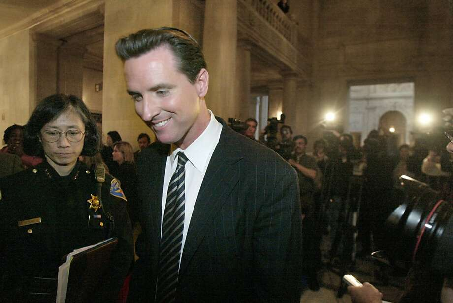 "8. Gavin Newsom: ""The modern JFK."" Photo: Liz Mangelsdorf, SFC"