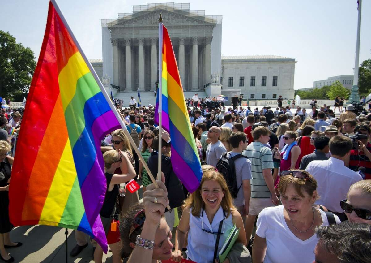 SCOTUS strikes down DOMA - June 26, 2013 In the case of United States v. Windsorthe Supreme Court ruled 5-4 that the federal ban on same-sex marriage was unconstitutional.