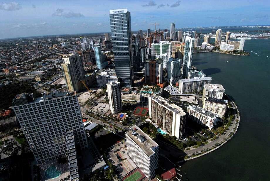 #5 - FloridaCorporate tax rank: 13 Individual income tax rank: 1 Sales tax rank: 18 Unemployment insurance tax rank: 10  Property tax rank: 25 Photo: RICHARD SHEINWALD, BLOOMBERG NEWS