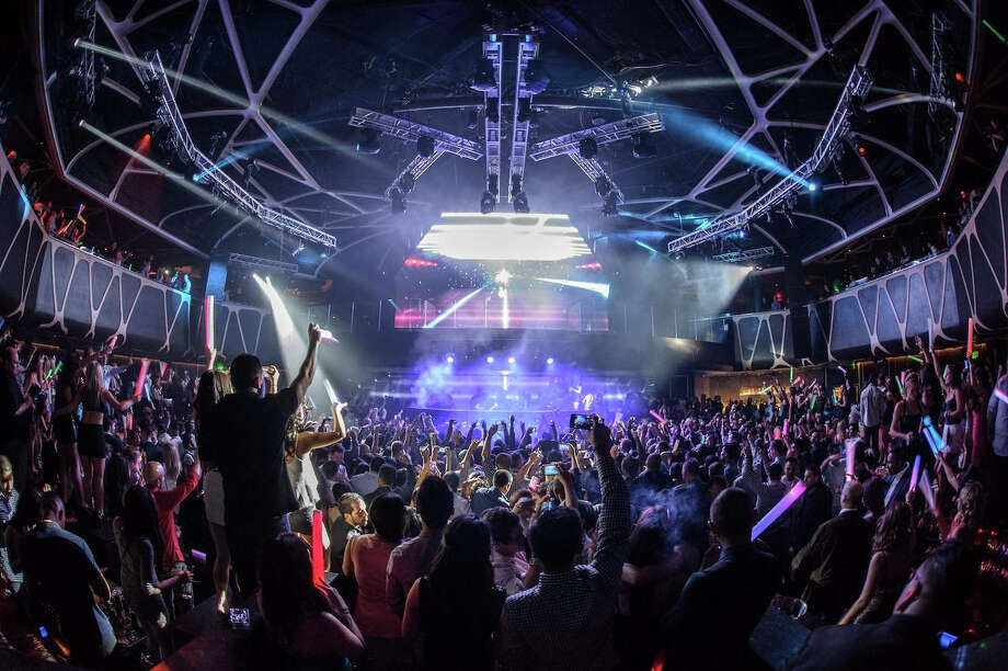 Hakkasan is a new dining and nightlife destination at MGM Grand, Las Vegas. At five stories and 80,000 square feet, Hakkasan merges a prestigious restaurant with a cutting-edge nightclub experience. Photo: Hakkasan