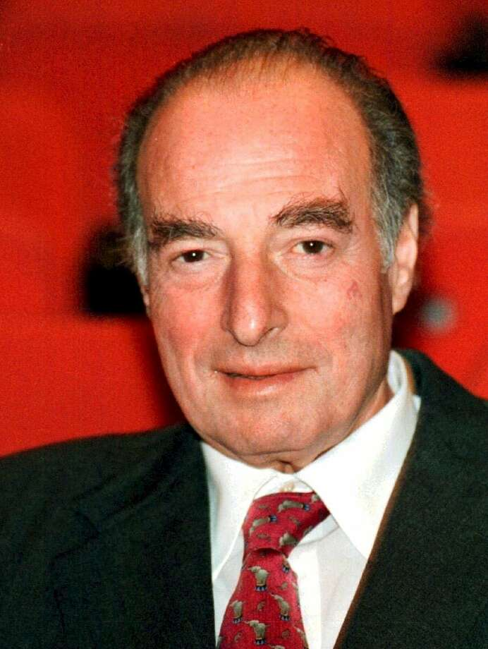 FILE - This is a  Nov. 30, 1998 file photo of financier Marc Rich shown in  in Zug, central Switzerland.  An associate of Marc Rich said Wednesday June 26, 2013, that the trader pardoned by President Clinton has died in Switzerland.(AP Photo/Guido Roeoesli File)  NO SALES TV OUT Photo: Guido Roeoesli, Associated Press / Associated Press