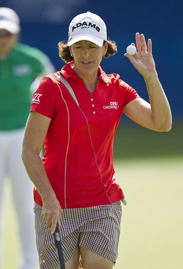 Juli Inkster, a two-time champion, will be playing her 34th Open. Photo: Beth Hall, Associated Press