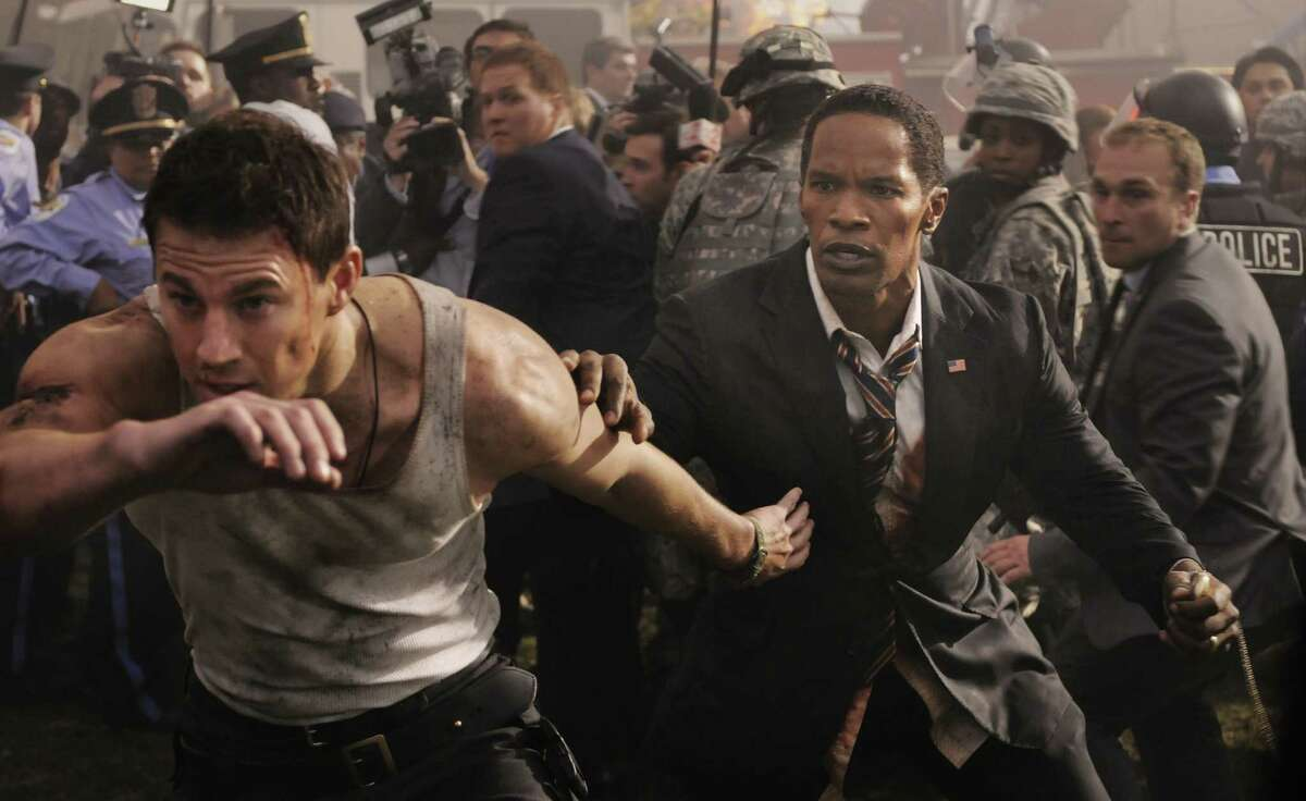 Channing Tatum (left) has the lead, but Jamie Foxx steals the show in