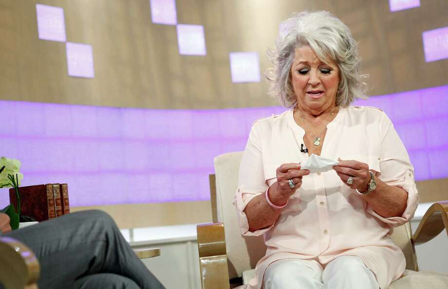 "Celebrity chef Paula Deen appears on Wednesday's ""Today"" show, denying she is a racist and insisting through tears that she'd ""never hurt anyone on purpose."" Photo: Peter Kramer, HOEP / NBC"