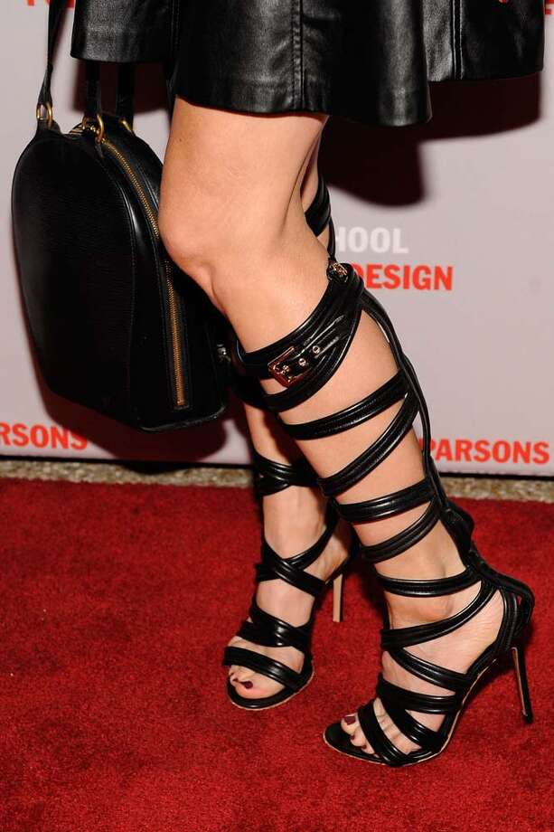 The beauty of this trend, is they can sell us shoes at boot prices, using no more material than a regular pair of shoes. Photo: Matthew Eisman, WireImage / 2013 Matthew Eisman