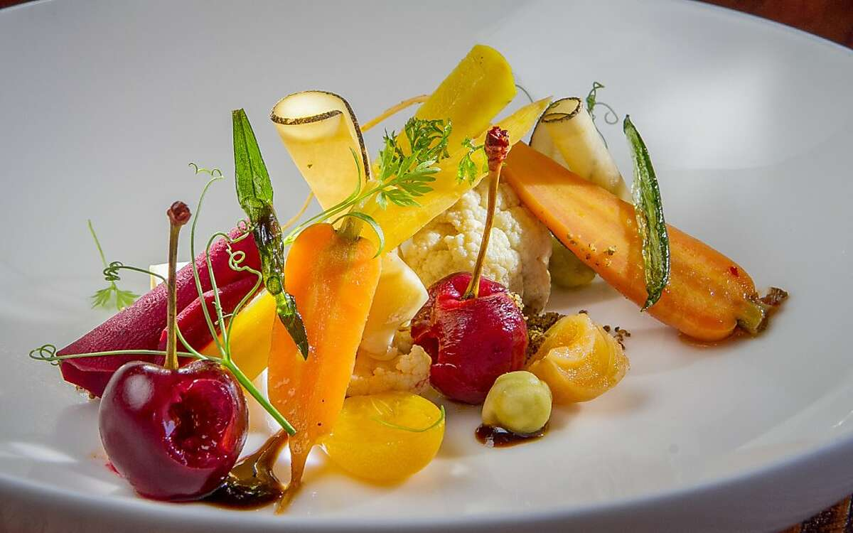 The Sri Lankan pickled vegetables at 1601 Bar & Kitchen in San Francisco, Calif., is seen on Friday, June 21st, 2013.