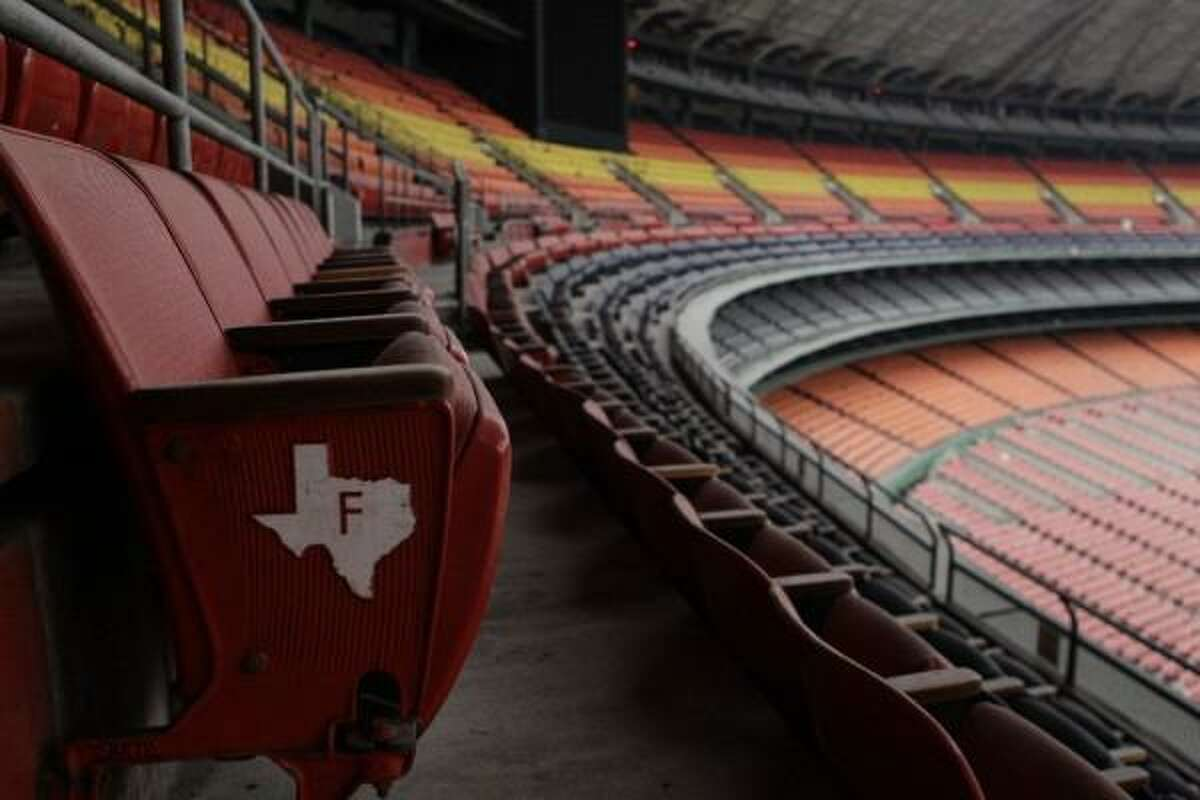 The vacant Astrodome hasn't housed a professional sports team in more than 13 years and was deemed unfit for occupancy by city inspectors in 2009 (Photo by Melissa Phillip)
