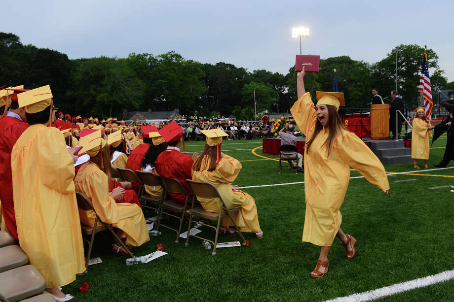 Stratford High School's 124th Annual Commencement in Stratford, Conn. on Wednesday June 26, 2013. Photo: Christian Abraham / Connecticut Post