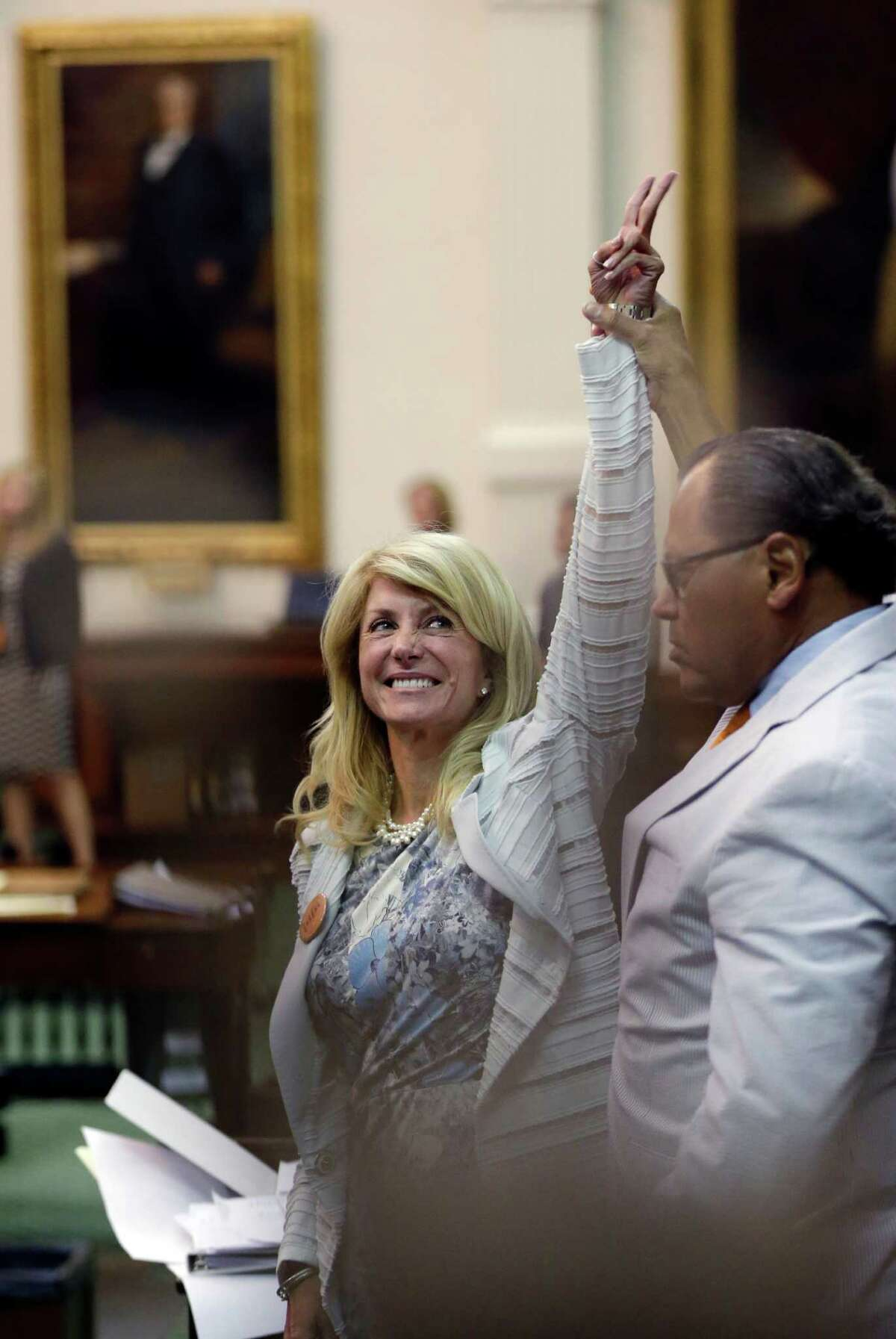 Sen. Wendy Davis, D-Fort Worth, has become Texas Democrats' rising star after her filibuster.