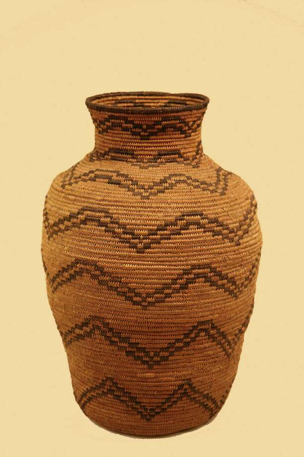 Basket Olla, Apache, ca. 1890-1910, Briscoe Museum Collection, Purchased with funds provided by The Brad Lemons Foundation Photo: Briscoe Western Art Museum