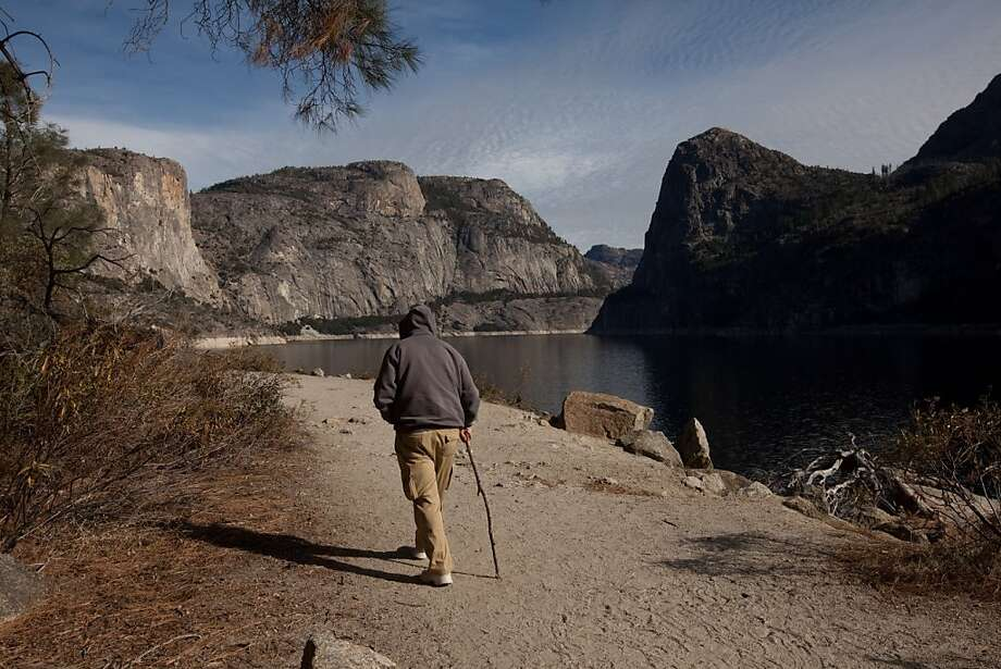 A hike around Hetch Hetchy Reservoir, taking in the assortment of waterfalls, could make for an enjoyable Fourth of July weekend adventure away from the expected large crowds. Photo: Tomas Ovalle, Special To The Chronicle