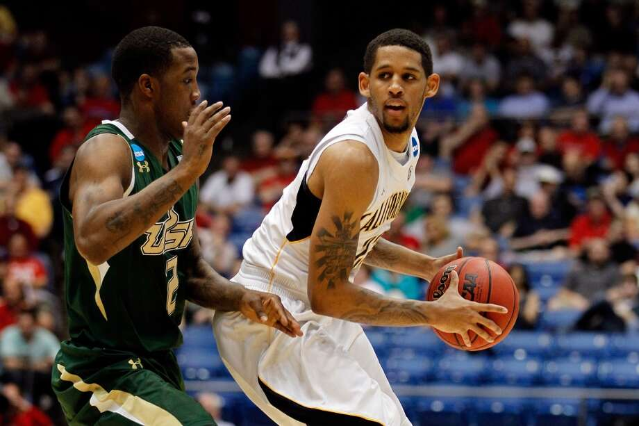 Allen Crabbe,          SG,    6-6,  California - Allen Crabbe #23 of the California Golden Bears looks to pass against Victor Rudd Jr. #2 of the South Florida Bulls in the first round of the 2011 NCAA men's basketball tournament at UD Arena on March 14, 2012 in Dayton, Ohio.