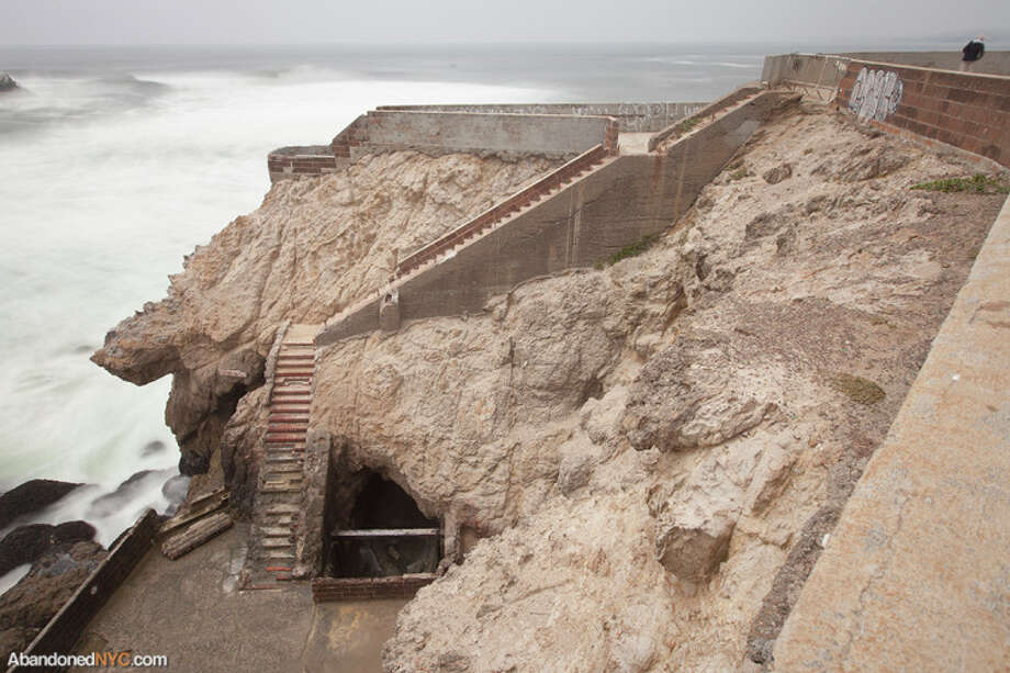 The bones of Sutro Baths. Photo via AbandonedNYC. http://abandonednyc.com