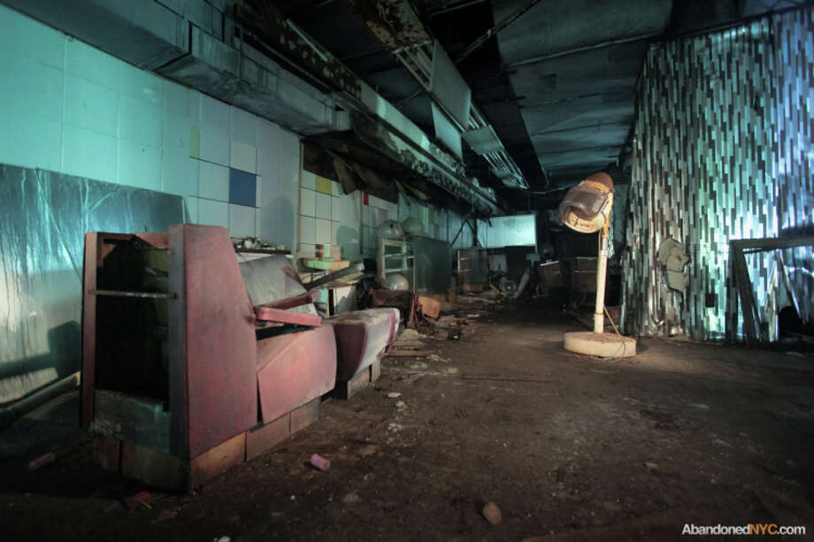 Once a posh place to see, be seen. Photo via AbandonedNYC. http://abandonednyc.com