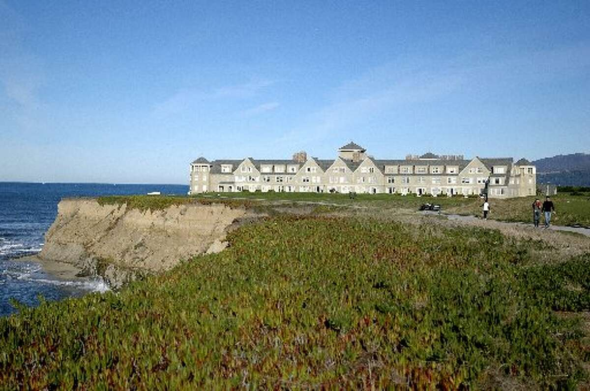 An exterior view of the Ritz-Carlton Half Moon Bay hotel. Looking for other Bay Area day trips? Click through the slideshow for more suggestions on where to go. >>>