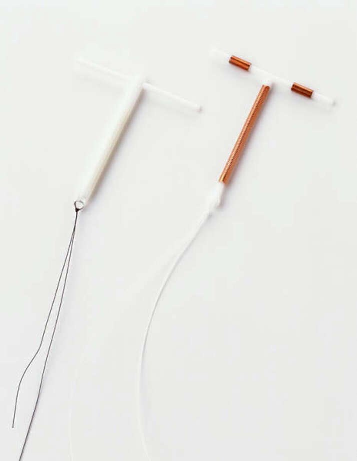 Two intrauterine devices A hormone-based contraceptive. Photo: Dorling Kindersley, Getty Images/Dorling Kindersley / Dorling Kindersley
