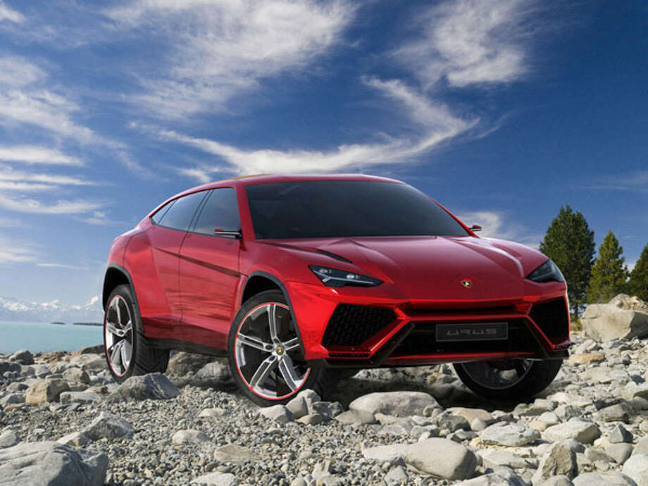 2017 Lamborghini Urus  The first Lamborghini SUV in decades has been called a game-changer by Lamborghini CEO Stephan Winklemann. The insane performance standards of contemporary Lamborghinis have set an extremely high bar for the Urus, and Lamborghini is putting forth every effort to reach its goals—including having the ability to produce enough of them. The Urus project is set to double Lamborghini's annual volume, and Winklemann promises that the result will be an SUV that fits in with the wider Lambo lineup. Likely to ride on the chassis of one of its Volkswagen Auto Group brethren (Audi Q7, Volkswagen Touareg, Porsche Cayenne), expect lots of carbon fiber and other weight-saving materials and a screaming-loud) powerful engine. The Urus is confirmed for 2017; set your clocks.