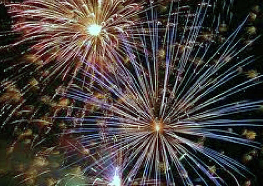 The town's annual fireworks show celebrating Independence Day will take place July 3 at Compo Beach. Photo: File Photo / Westport News