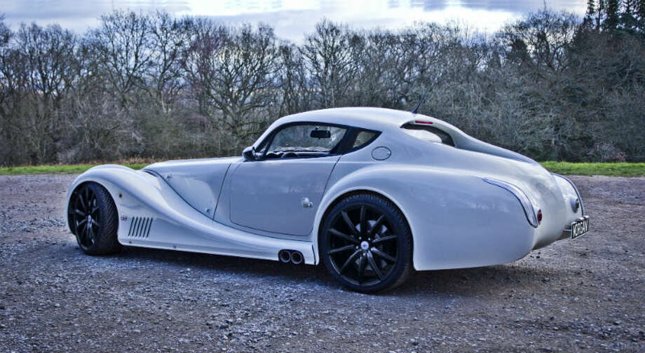 The Morgan Aero Coupe is one of the more unique cars on the road. The British company Morgan only makes 100 per year.