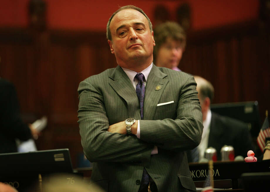 "House Minority Leader Lawrence F. Cafero, of Norwalk, announced Thursday, June 27, 2013 that he will not be running for governor. ""For me it came down to, frankly, what it did four years ago and that is family,"" the Republican said. Photo: Brian A. Pounds / Connecticut Post"