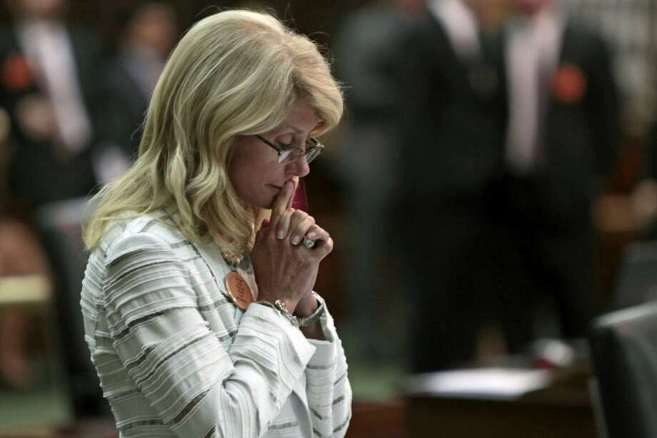 Wendy DavisState Sen. Wendy Davis, D-Ft. Worth, worked to support her mother and siblings as a teen. She later went on to be a paralegal before going to Harvard Law School.Read more on Business Insider Photo: Erich Schlegel, Getty Images / 2013 Getty Images