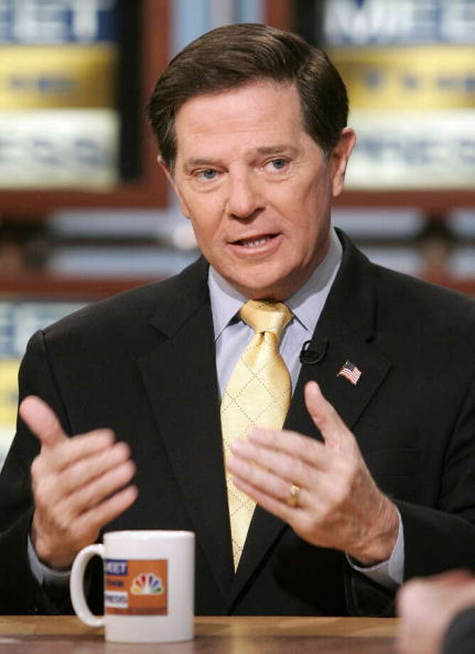 "Tom DeLayFormer Rep. Tom DeLay, R-TX, is best known for being a pest exterminator. His pre-political office job earned him the nickname, ""The Exterminator.""Read more on Business Insider Photo: Alex Wong, Getty Images For Meet The Press / 2007 Getty Images"