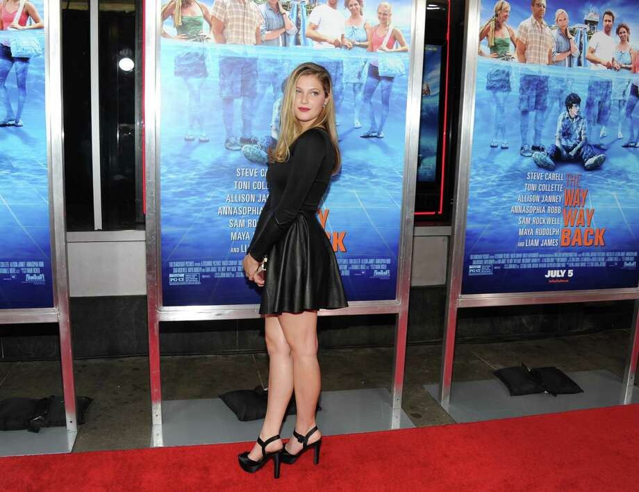 """Actress Zoe Levin attends the premiere for """"The Way, Way Back"""" at the AMC Loews Lincoln Square on Wednesday, June 26, 2013, in New York. (Photo by Evan Agostini/Invision/AP) ORG XMIT: NYEA103 Photo: Evan Agostini, AP / Invision"""