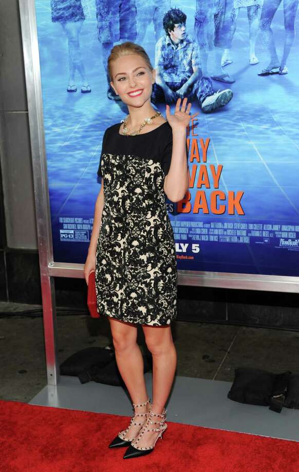 "Actress AnnaSophia Robb attends the premiere for ""The Way, Way Back"" at the AMC Loews Lincoln Square on Wednesday, June 26, 2013, in New York. (Photo by Evan Agostini/Invision/AP) ORG XMIT: NYEA112 Photo: Evan Agostini, AP / Invision"