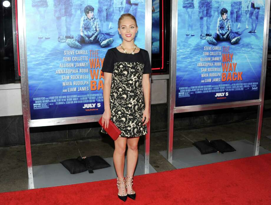 "Actress AnnaSophia Robb attends the premiere for ""The Way, Way Back"" at the AMC Loews Lincoln Square on Wednesday, June 26, 2013, in New York. (Photo by Evan Agostini/Invision/AP) ORG XMIT: NYEA113 Photo: Evan Agostini, AP / Invision"