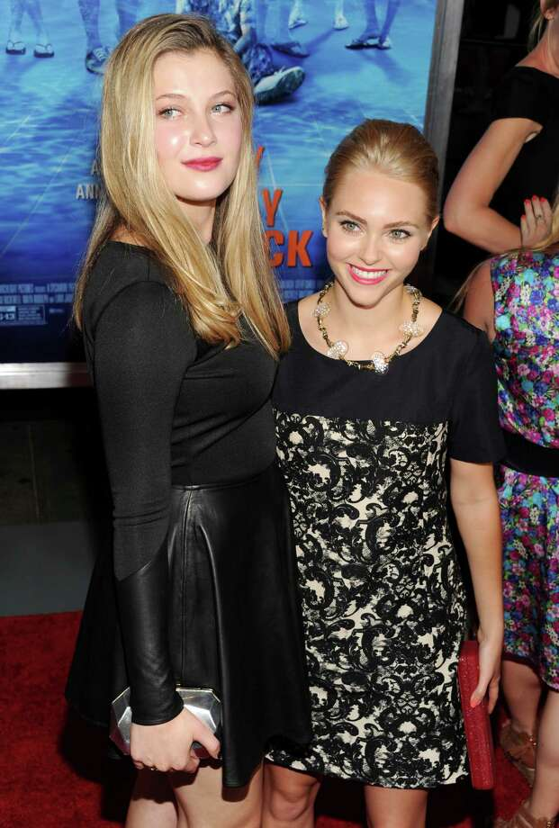 "Actresses Zoe Levin, left, and AnnaSophia Robb attend the premiere for ""The Way, Way Back"" at the AMC Loews Lincoln Square on Wednesday, June 26, 2013, in New York. (Photo by Evan Agostini/Invision/AP) ORG XMIT: NYEA120 Photo: Evan Agostini, AP / Invision"
