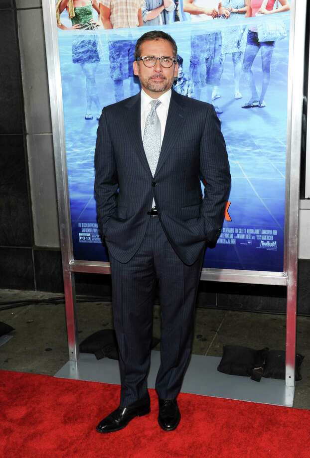 "Actor Steve Carell attends the premiere for ""The Way, Way Back"" at the AMC Loews Lincoln Square on Wednesday, June 26, 2013 in New York. (Photo by Evan Agostini/Invision/AP) ORG XMIT: NYEA107 Photo: Evan Agostini, AP / Invision"