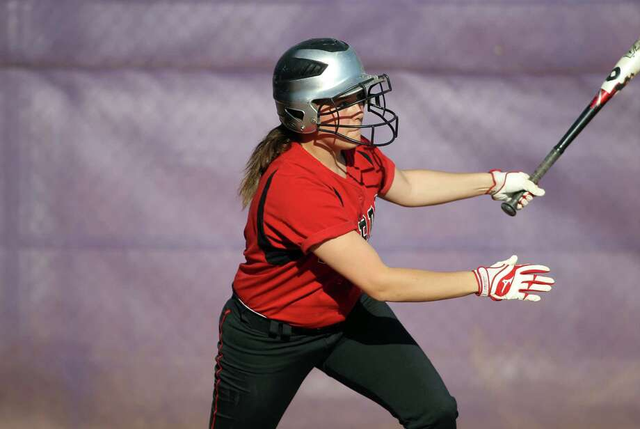 Rachelle Barone and the Fairfield Warde softball team possess the greatest upside for any Fairfield team in 2014. Photo: J. Gregory Raymond / Stamford Advocate Freelance;  © J. Gregory Raymond