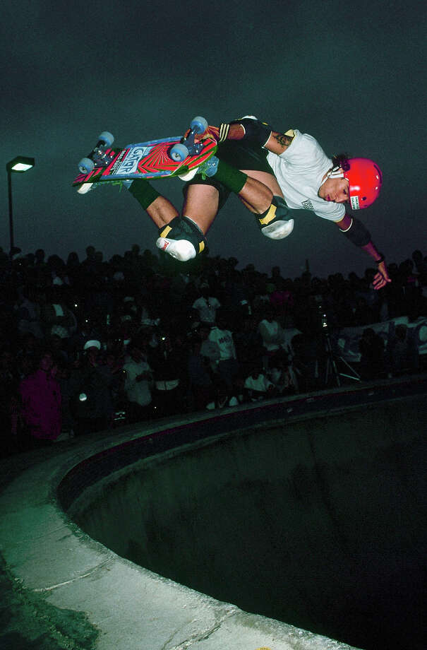 Pro skater Mark 'Gator' Rogowski raped and murdered an acquaintance, Jessica Bergsten, in San Diego in 1991 and buried her in a surfboard bag in a shallow grave.Rogowski got 31 years and was last denied parole in 2011. Photo: Doug Pensinger, Getty Images / 2009 Getty Images
