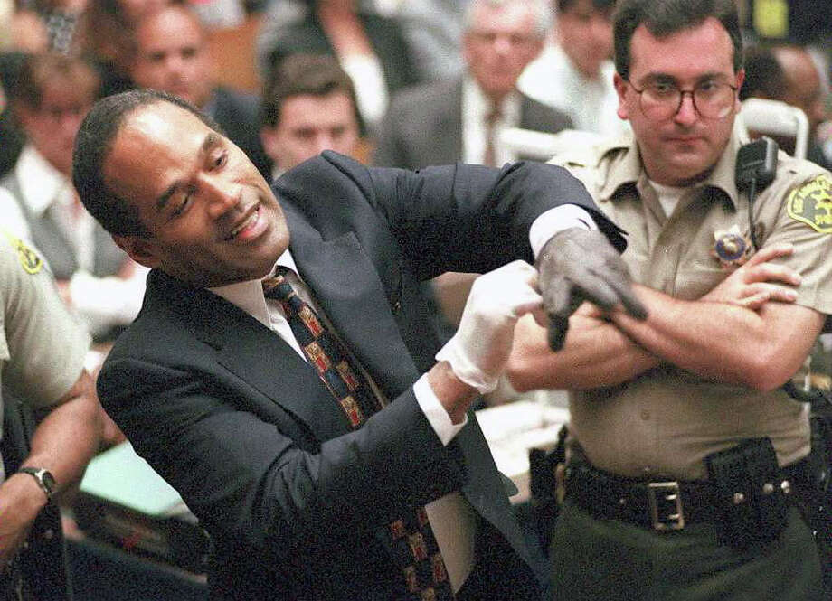 Even though he was acquitted, no list of sports-related homicides would be complete without O.J. Simpson. It's up to you whether or not you believe he killed Nicole Brown Simpson and her friend Ronald Lyle Goldman in 1994. Photo: SAM MIRCOVICH, AFP/Getty Images / AFP