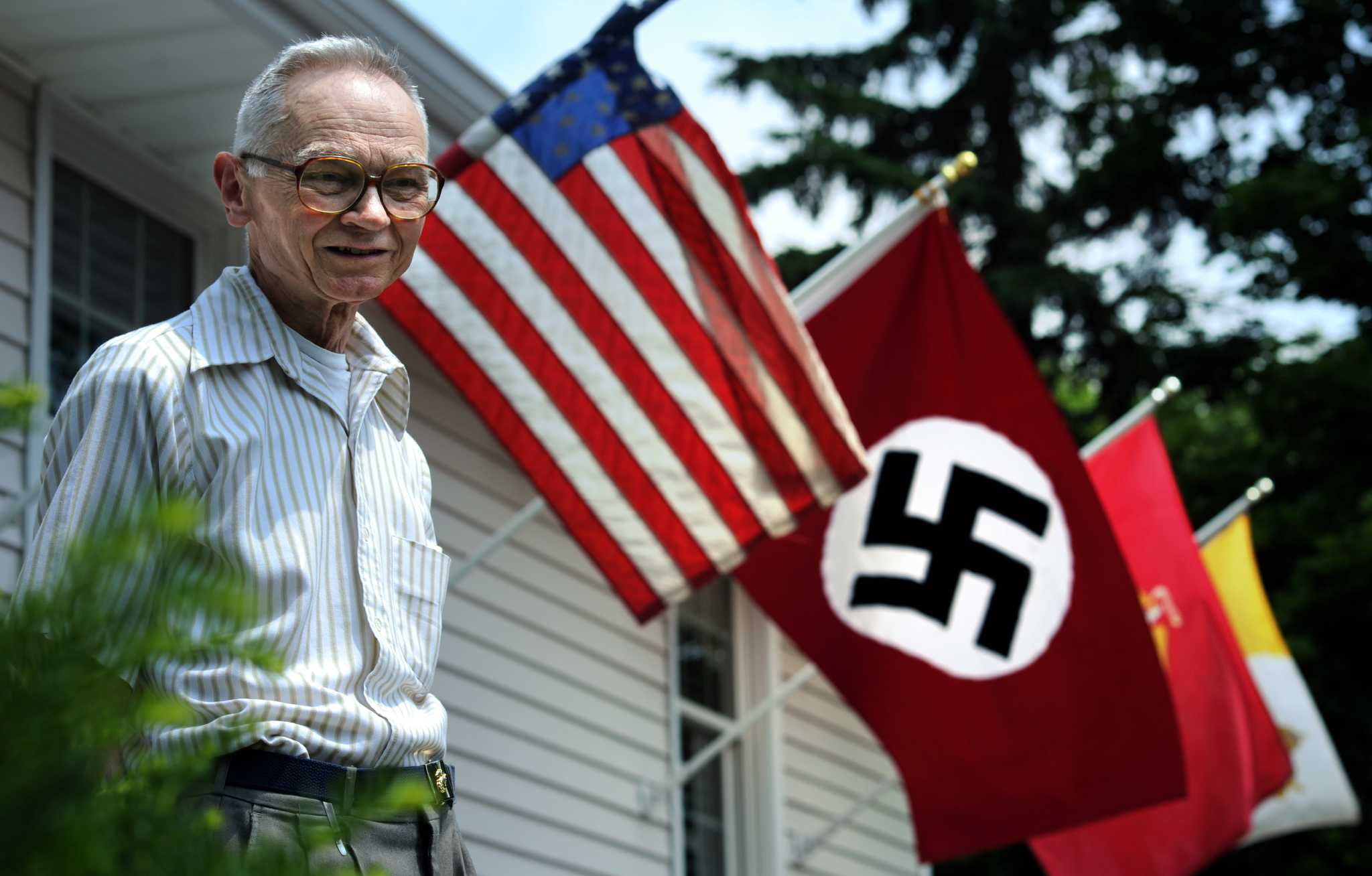 Stratford Man Displays Nazi Flag In Protest Connecticut Post