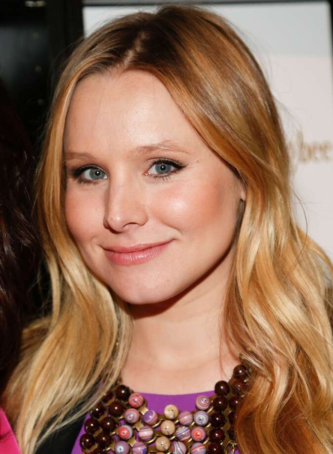 Kristen Bell took the title of sexiest female vegetarian this year.